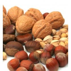 Nuci, semințe, boabe
