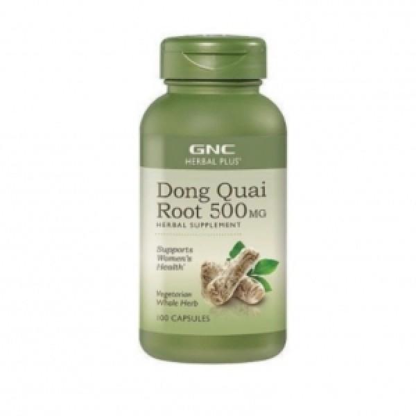 HERBAL PLUS Dong Quai, 500 mg (100 capsule), GNC