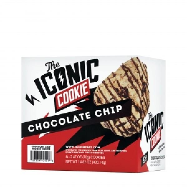 THE ICONIC COOKIE Baton proteic cu aroma de ciocolata (70 grame), GNC