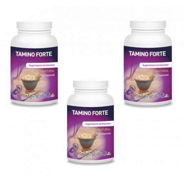 Tamino Forte (150 capsule), Medicinas PACHET 3 LUNI (3 flacoane)