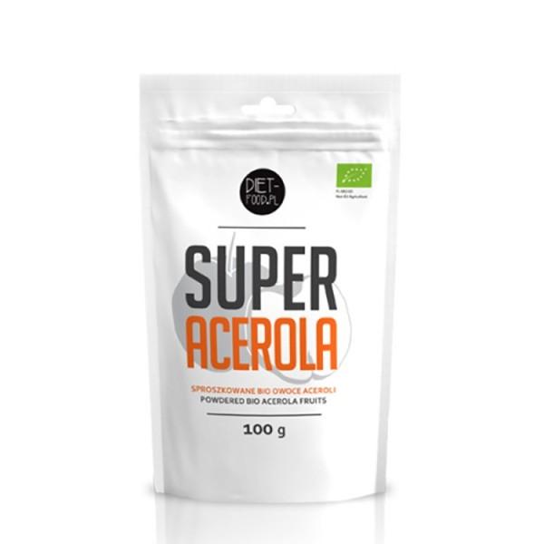 Acerola - pulbere bio (100g), Diet-Food