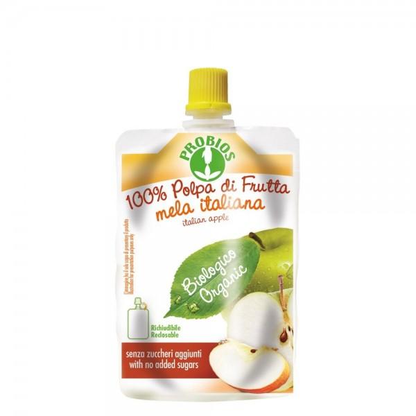 Piure de fructe fara zahar - mere (100g), Probios