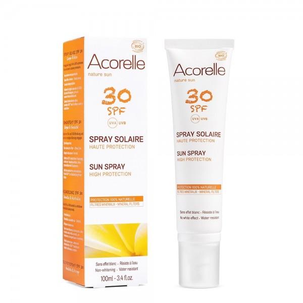 Spray protectie solara SPF 30 (100ml), Acorelle