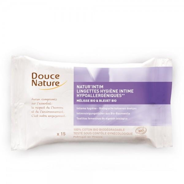 Servetele umede intime (15 Buc.), Douce Nature
