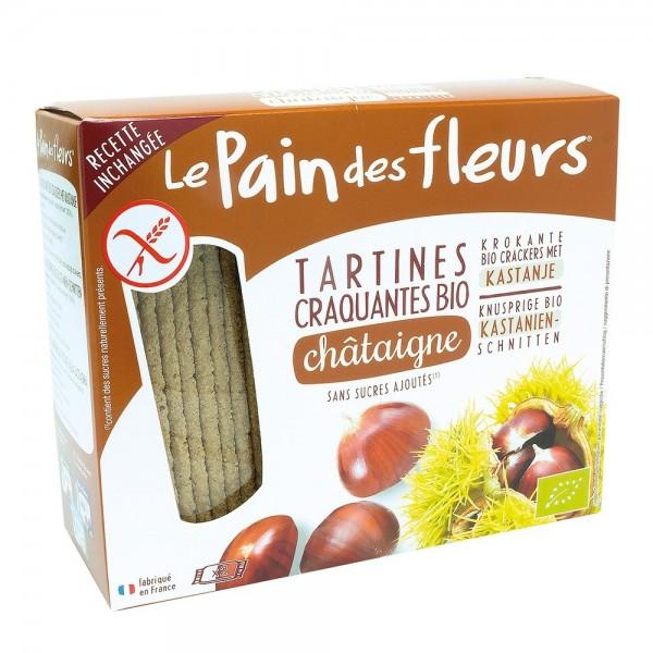 Turte crocante cu castane - fara gluten (150g), Le Pain Des Fleurs