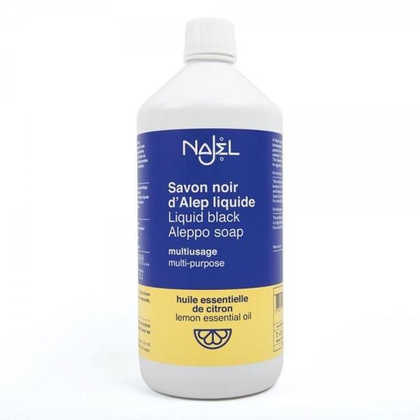 Detergent universal cu sapun negru de Alep cu lamaie (1L), Najel