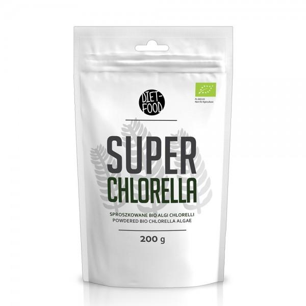 Chlorella - pulbere bio (200g), Diet-Food