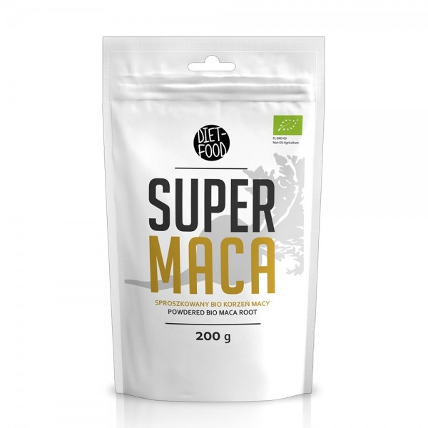 Maca - pulbere bio (200g), Diet-Food