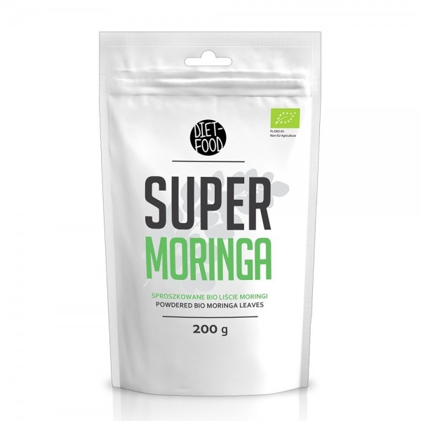 Moringa - pulbere bio (200g), Diet-Food