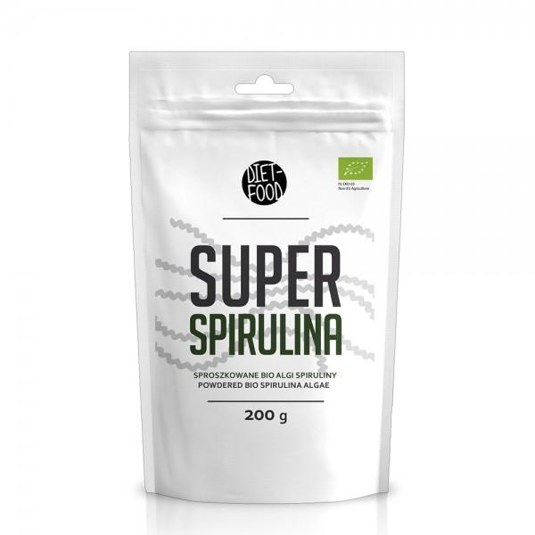 Spirulina - pulbere bio (200g), Diet-Food