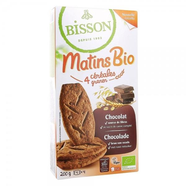 Biscuiti MIC DEJUN cu cereale si ciocolata (200g), Bisson