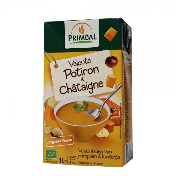 Supa crema de dovleac si castane (1L), Primeal