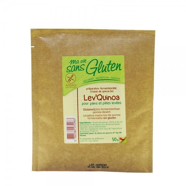 Drojdie maia de quinoa fara gluten (50g), Ma vie sans gluten