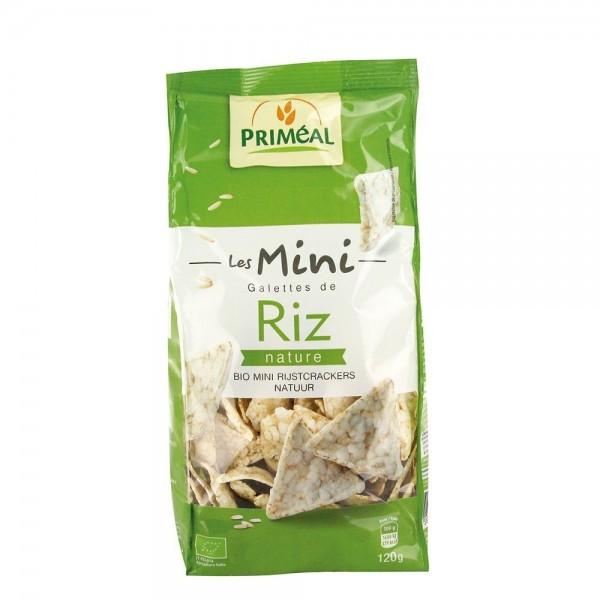 Mini turtite din orez fara gluten (120g), Primeal