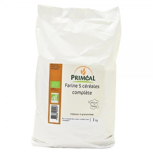 Faina integrala 5 cereale (1Kg), Primeal