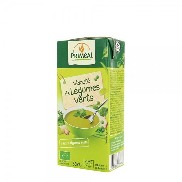 Supa crema de legume verzi (330ml), Primeal