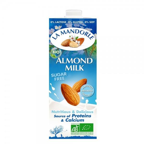 Lapte de migdale fara zahar (1L), La Mandorle