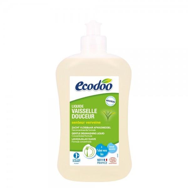 Detergent bio vase cu aloe vera si verbena (500ml), Ecodoo