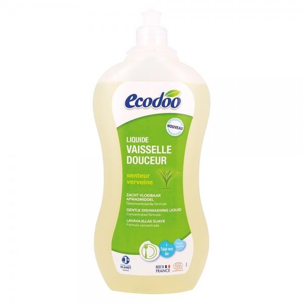 Detergent bio vase cu aloe vera si verbena (1L), Ecodoo