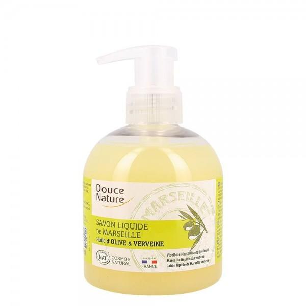 Sapun de Marsilia lichid cu verbina (300ml), Douce Nature