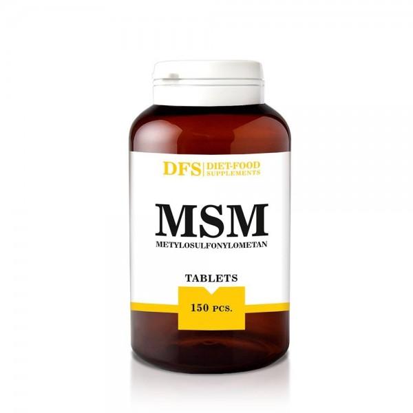 MSM - 150 tablete x 750mg - (112.5g), Diet-Food
