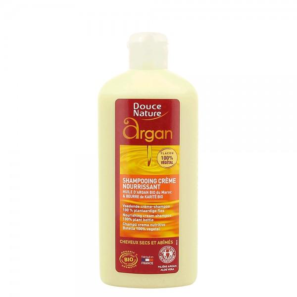 Sampon crema cu ulei de argan (250ml), Douce Nature