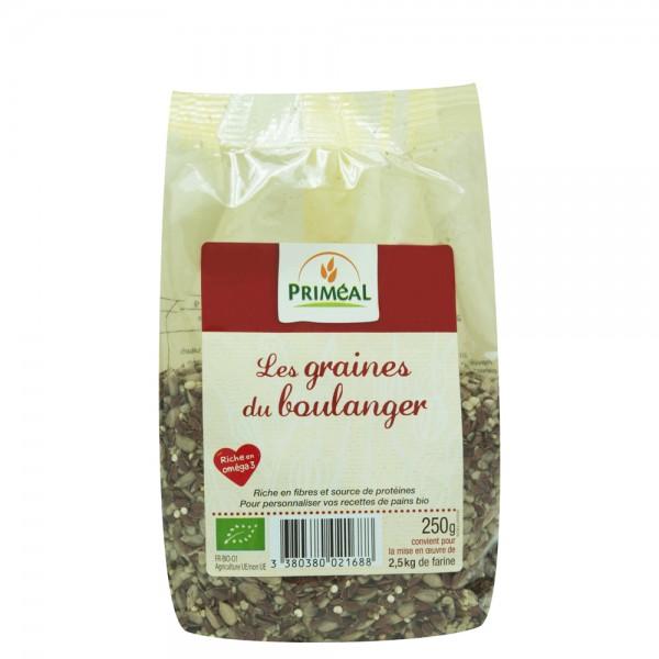 Amestec seminte pentru paine (250g), Primeal
