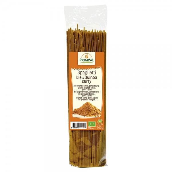 Spaghetti cu quinoa si curry (500g), Primeal