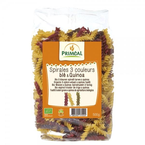 Spirale in 3 culori cu quinoa (500g), Primeal