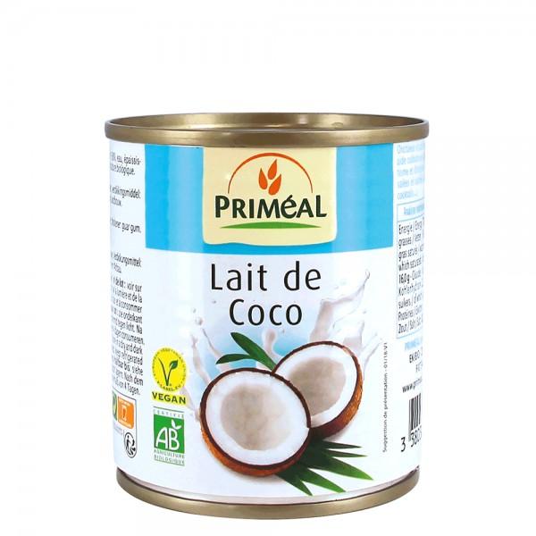 Lapte de cocos bio (225ml), Primeal