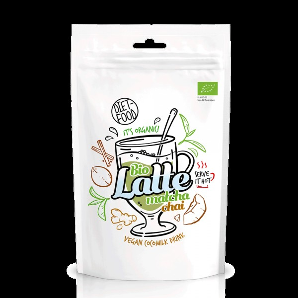 Matcha Latte Chai bio vegan (200g), Diet-Food