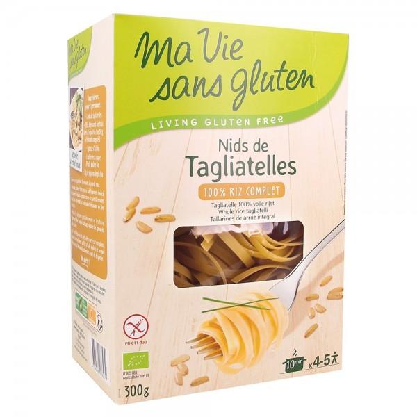 Cuiburi de tagliatele din orez integral - fara gluten (300g), Ma vie sans gluten