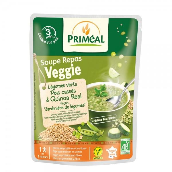 Supa gata preparata - legume verzi, mazare si quinoa (250ml), Primeal