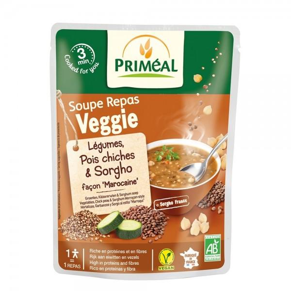 Supa gata preparata - legume, naut si sorg (250ml), Primeal