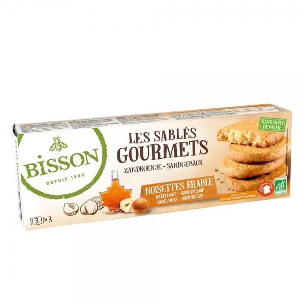 Fursecuri gourmet cu alune si sirop de artar (150g), Bisson