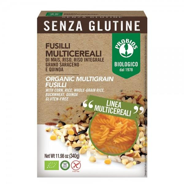 Fusilli multicereale - fara gluten (340g), Probios