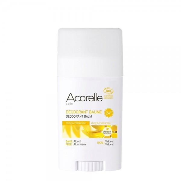 Deodorant eficacitate maxima - ylang ylang+palmarosa (40g), Acorelle