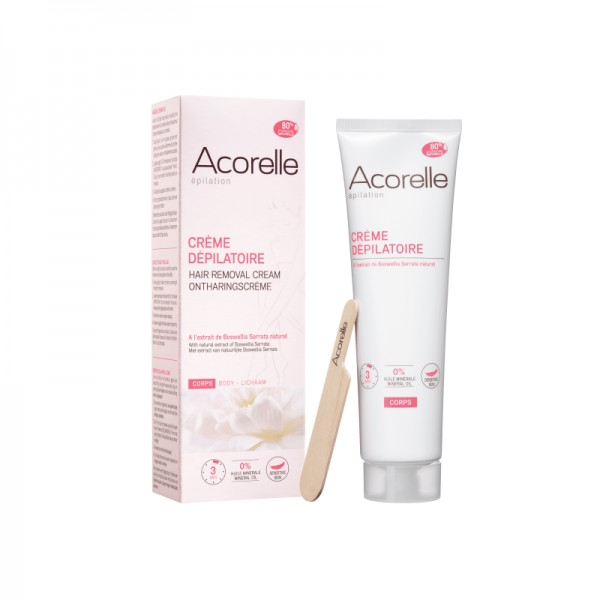 Crema depilatoare naturala pentru corp 1(50ml), Acorelle