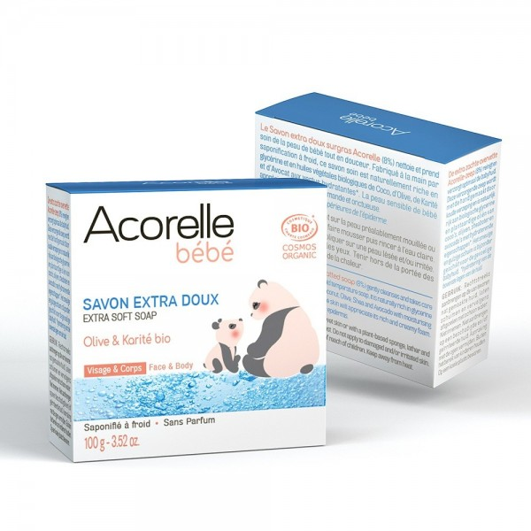 Sapun ultra delicat pentru bebelusi (100g), Acorelle