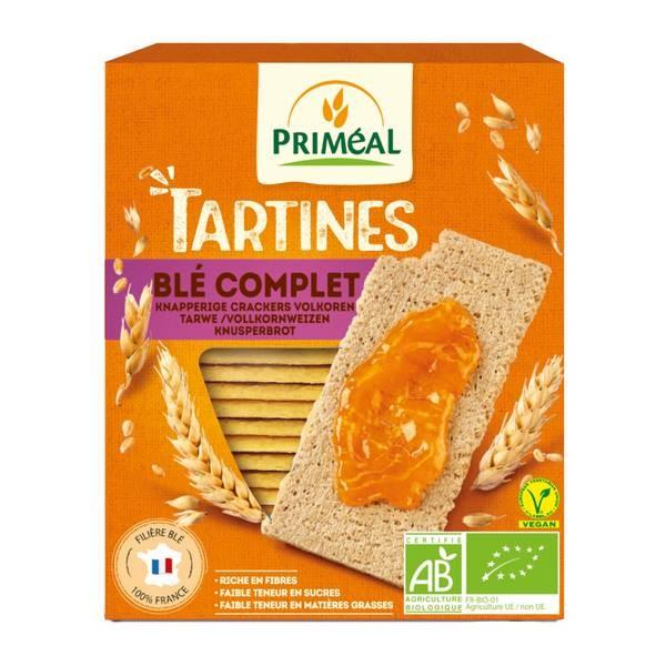 Tartine crocante cu faina integrala de grau (150g), Primeal
