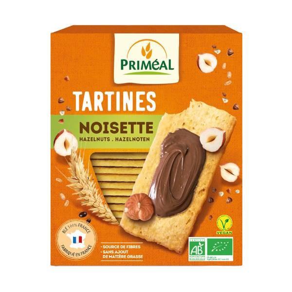 Tartine crocante cu faina de grau si alune (150g), Primeal