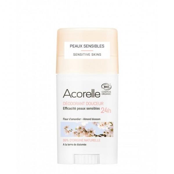 Deodorant stick-gel - flori de migdal (45g), Acorelle