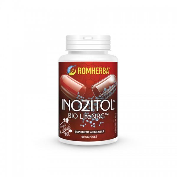 Inozitol Bio Lifenrg (60 capsule), Romherba