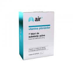 Air7 Vitamina Plamanilor (30 capsule), Green Spild
