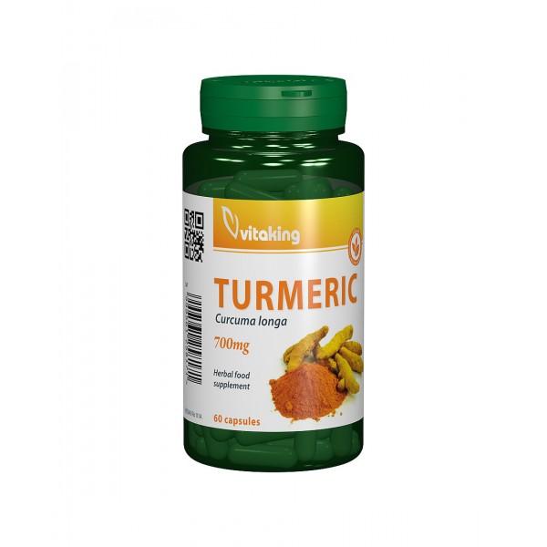 Turmeric 700mg Curcuma (60 capsule), Vitaking