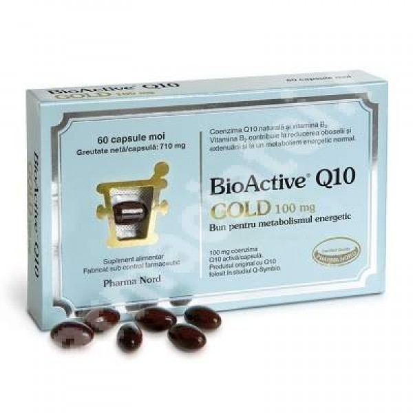 BioActive Q10 Gold 100mg (60 capsule), Pharma Nord