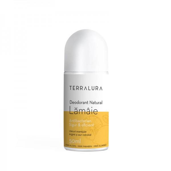 Deodorant Roll-on Natural Lamaie (50ml), Terralura