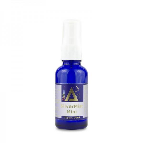 Silver Mist Mini Pulverizator spray cu argint coloidal 10ppm (30 ml), Pure Alchemy