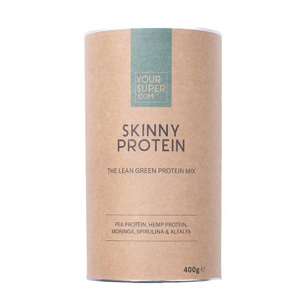 Skinny Protein Organic Superfood Mix Pachet 3 bucati (400 grame), Your Super