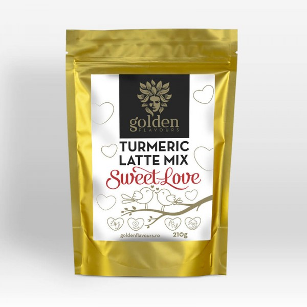 Turmeric Latte Mix Sweet Love (210 grame), Golden Flavours